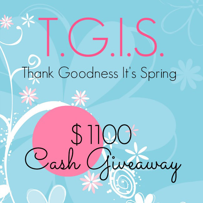 $100 Spring Giveaway