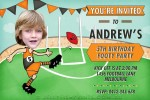 Aussie Rules party invitations