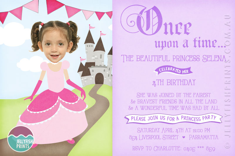 Princess birthday party invitations printable invites princess birthday invitations printable princess invitation filmwisefo