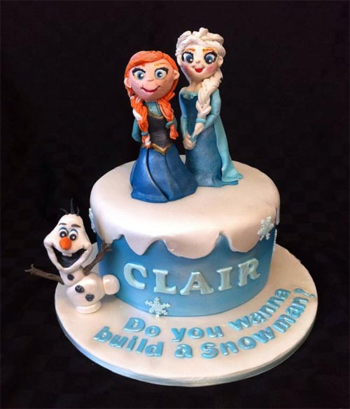 Frozen Cake by Coxie's Cakes