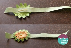 easter egg invitation ribbon