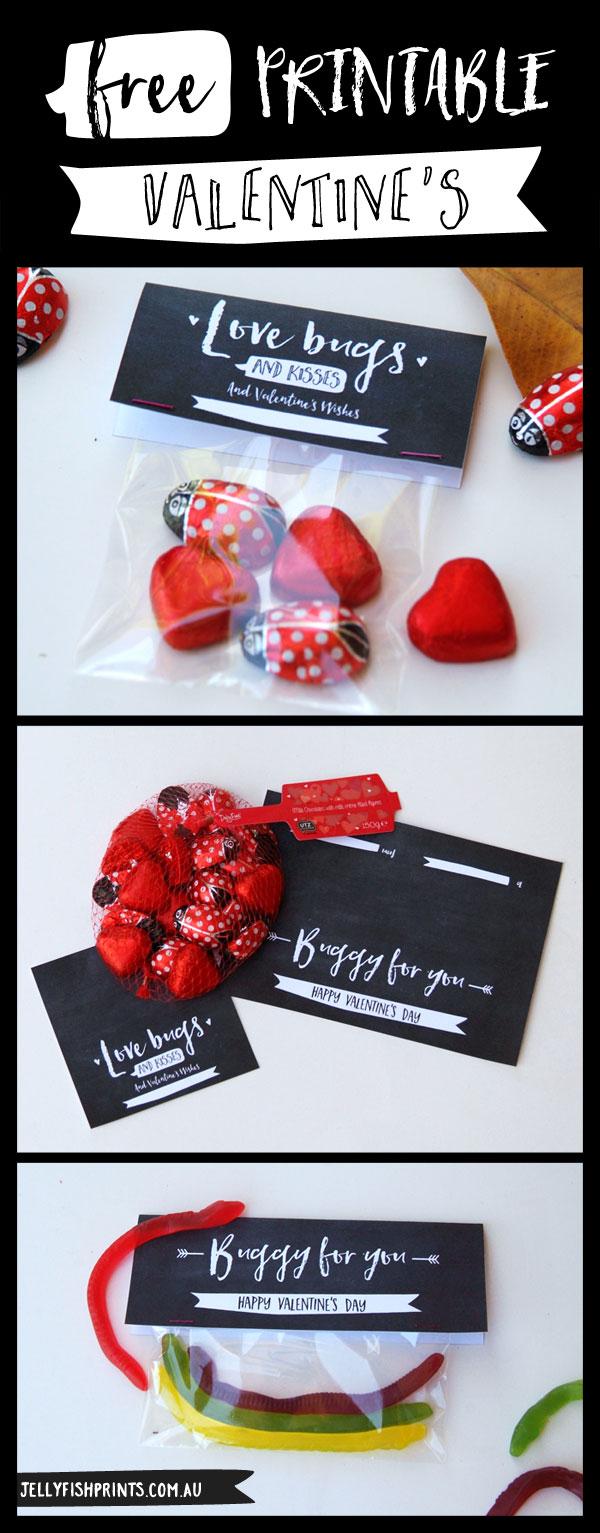 printable kids valentines jellyfish prints