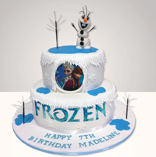 from the Ferguson Plarre bakery comes this Olaf cake