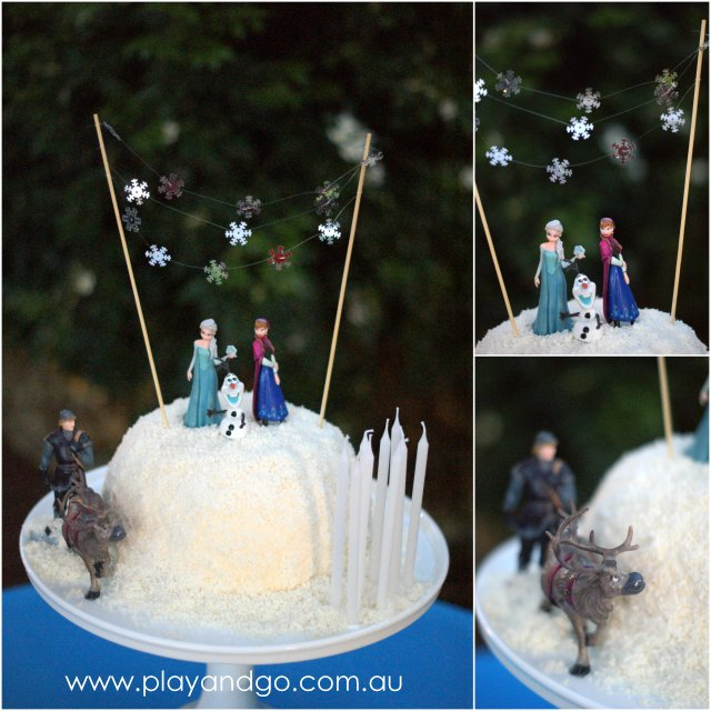 Frozen birthday cake design from by playandgo