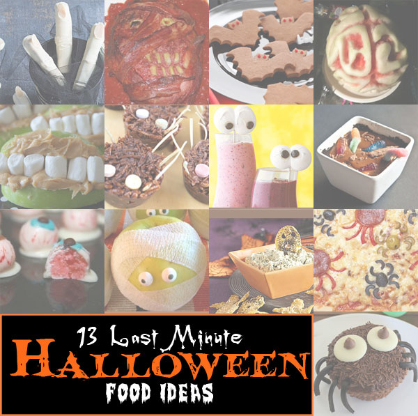 13 last minute halloween food ideas jellyfish prints for Last minute party food