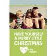 Printable holiday card for Christmas