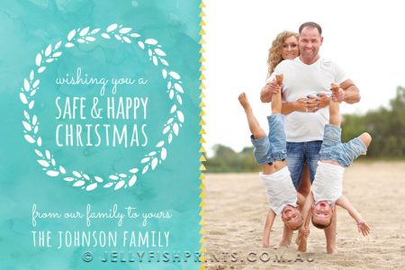 Printable Christmas Card design