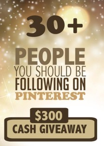 pinterest giveaway