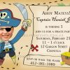 Printable Pirate bithday party invitation
