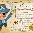 Printable Pirate bithday party invitation