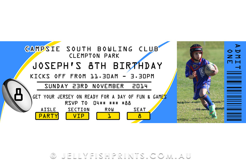 Football Birthday Party Invitations was best invitation template