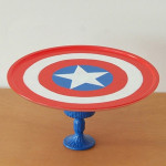 Super hero cake stands