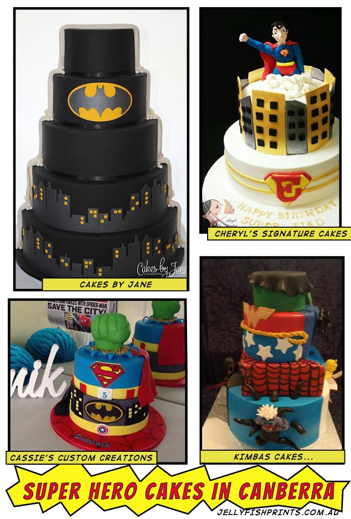 Super Hero Cakes Jellyfish Prints