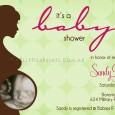 Baby scan shower invitation