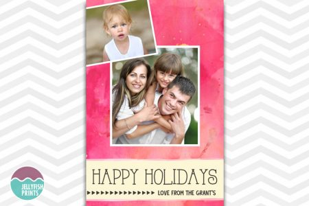 Send you feiend and family a personalise custom photo card