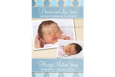 Baby Boy Announcements fo your child