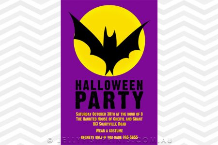 Printable Halloween invites