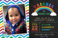 printable rainbow party invitations